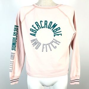 A&F crop sweatshirt